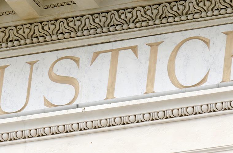Justiz Gebäude
